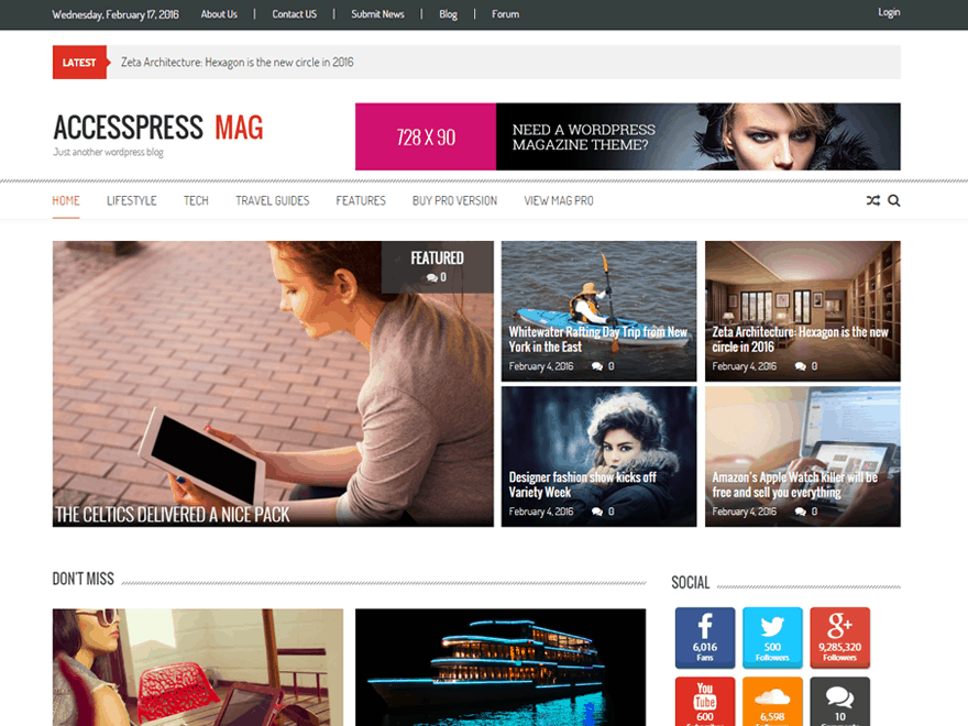 accesspress-mag-screenshot