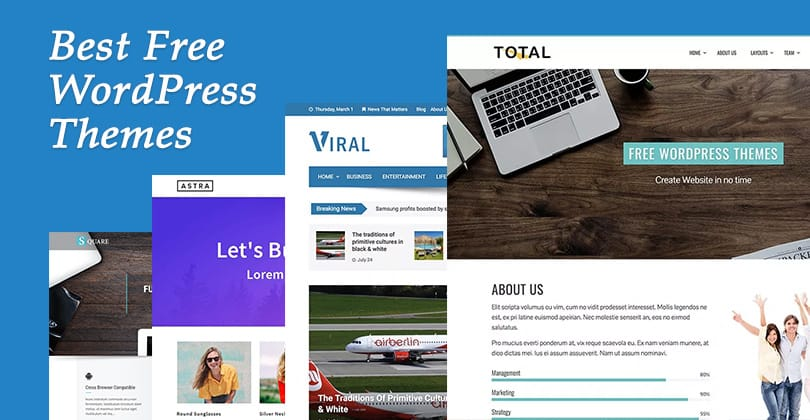 30+ Best Free WordPress Themes for 2021 to Startup your Business