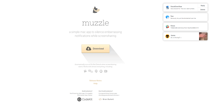 great landing page