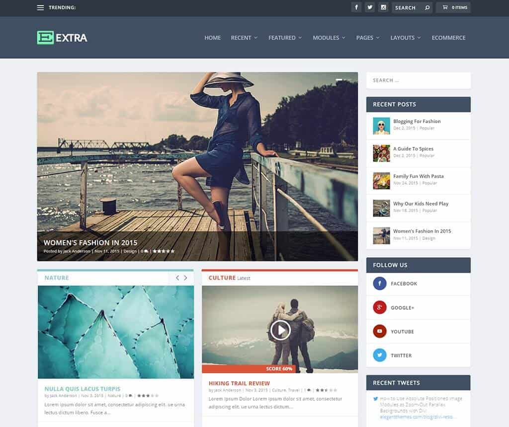 Extra: WordPress News Magazine Themes