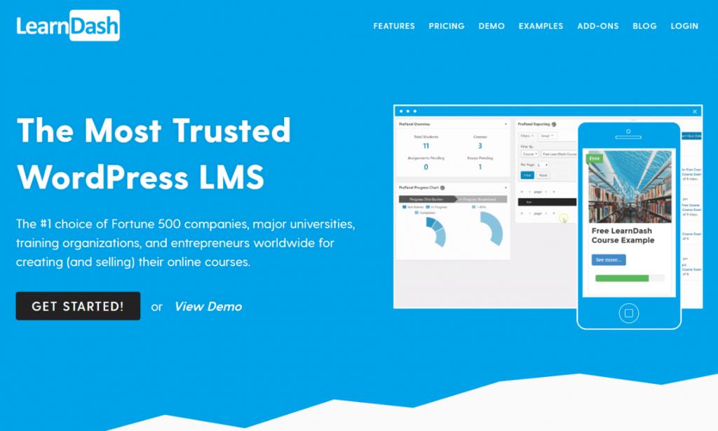 LearnDash: Best WordPress Membership Plugins