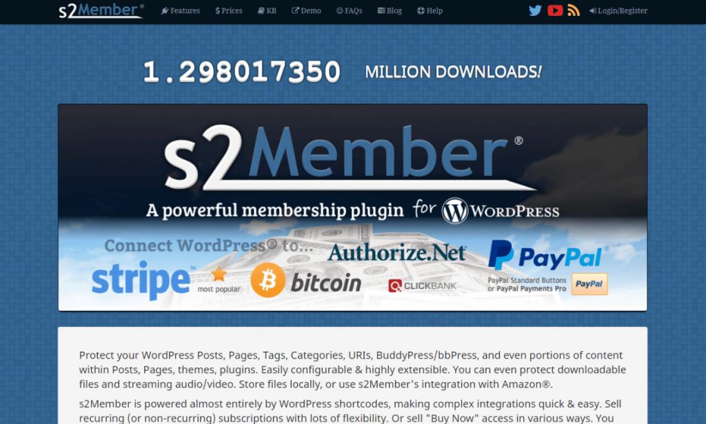 s2Member: Best WordPress Membership Plugins