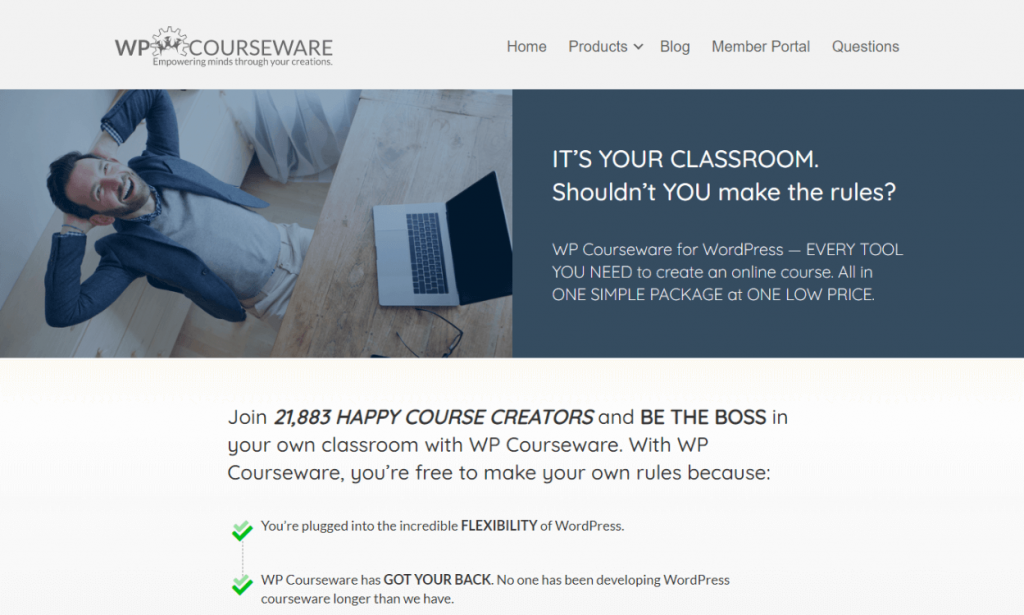 WP Courseware: WordPress Learning Management System Plugins