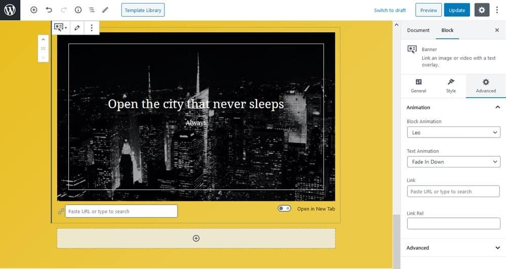 Create Hero Website Sections