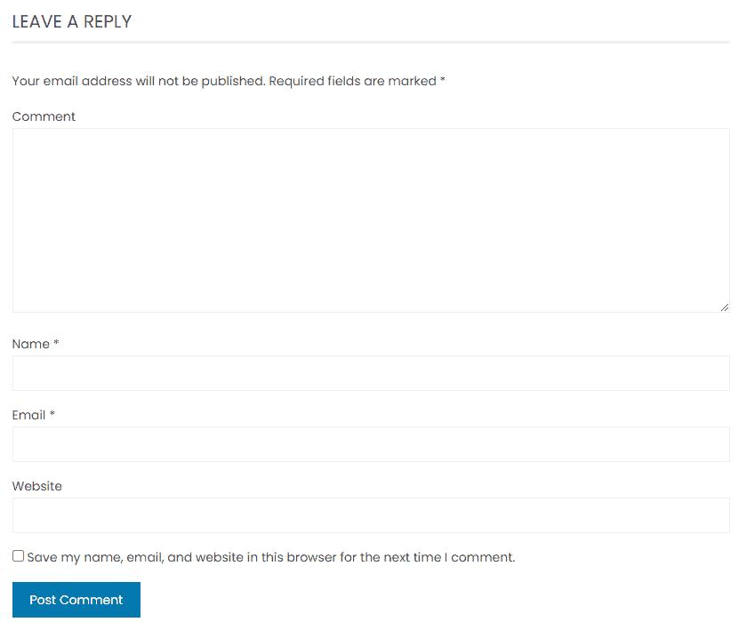 Remove Website URL