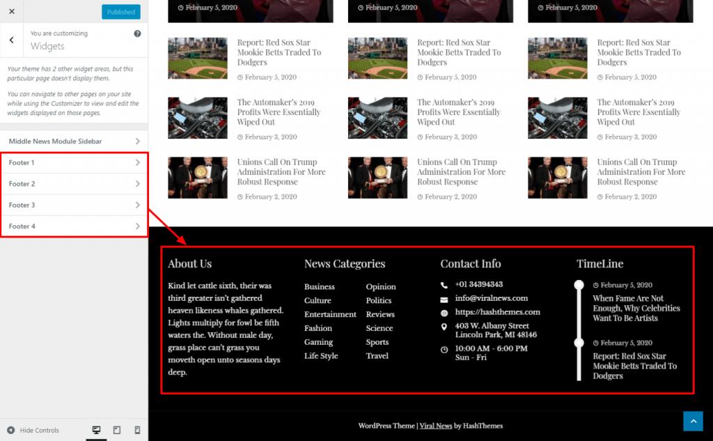 Create a News Magazine Website