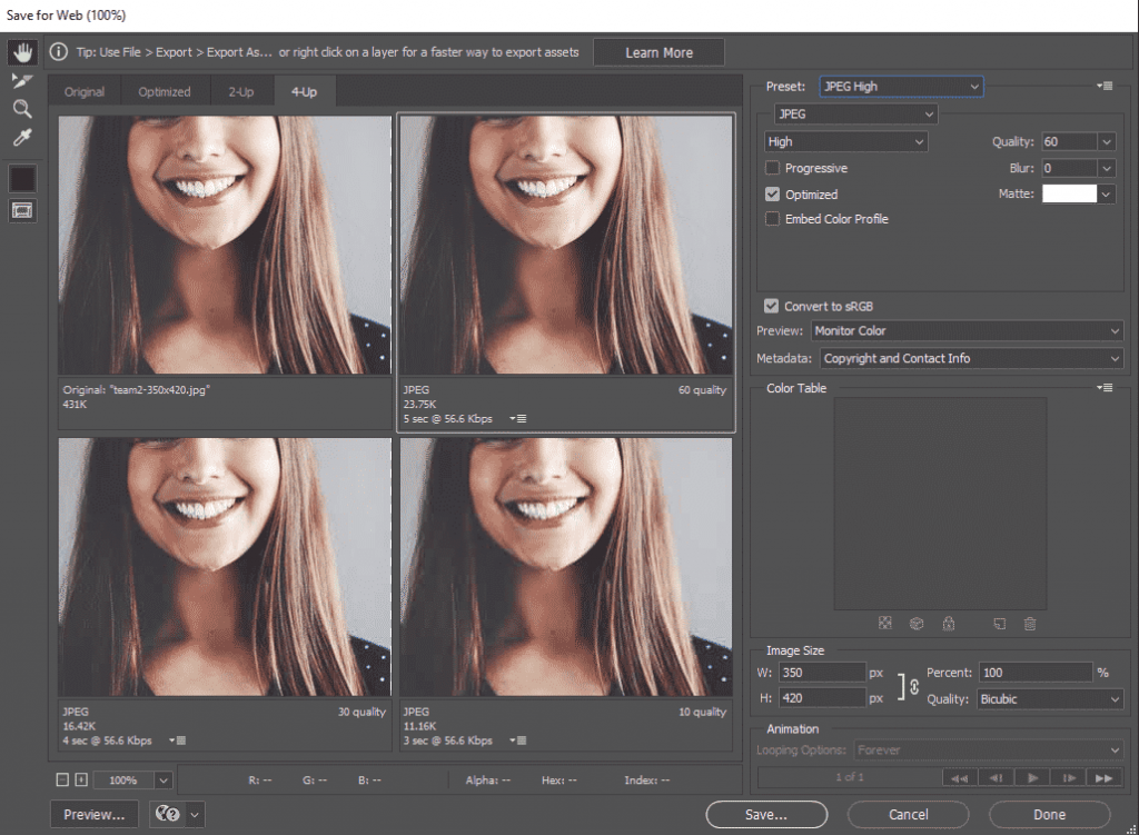 Optimize Images Without Losing Quality