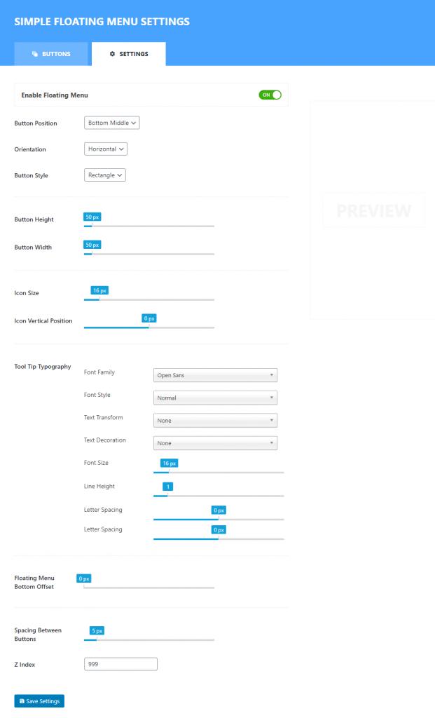 Social Media Button in WordPress