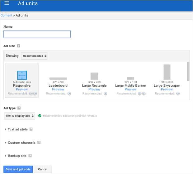 Add Google AdSense on WordPress