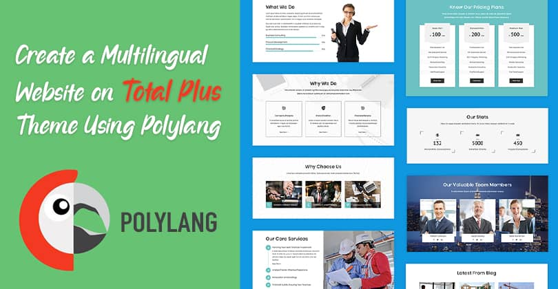 How to Create a Multilingual Website on Total Plus Theme Using Polylang?
