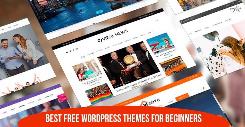 15+ Best Free WordPress Themes for Beginners