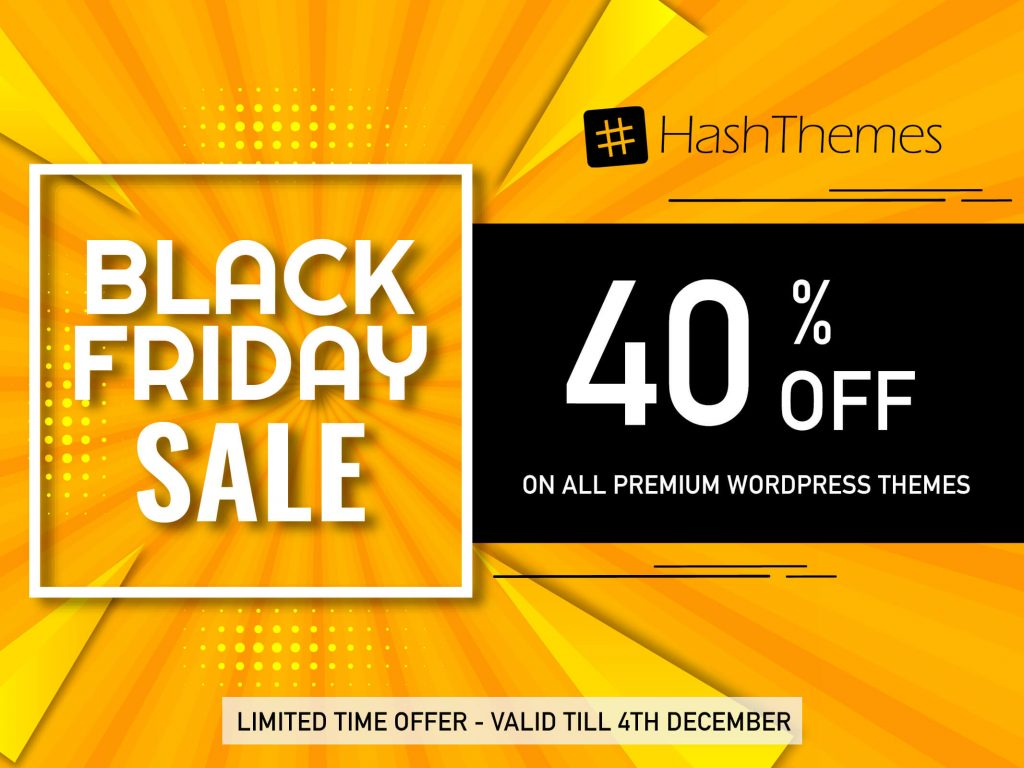 WordPress Black Friday and Cyber Monday Deals
