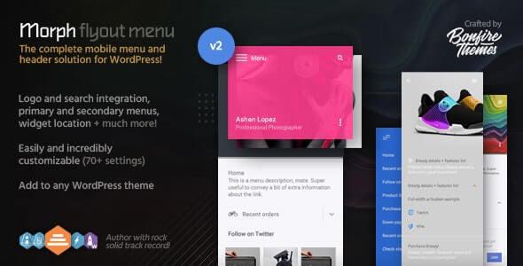 WordPress Off Canvas Menu Plugins