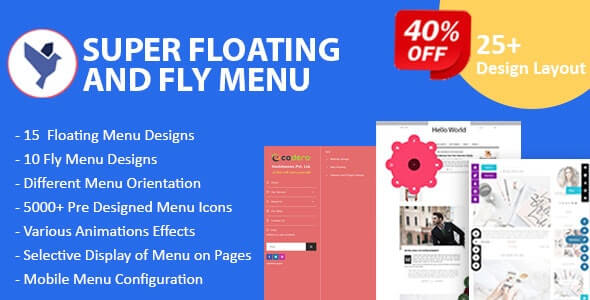 WordPress Floating Menu Plugins
